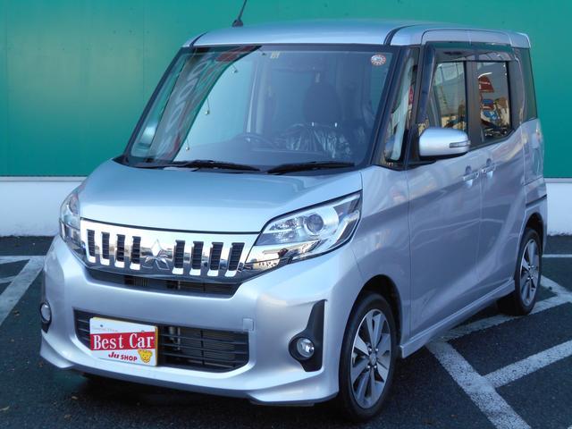 三菱 カスタムT ターボ ワンオーナー 社外ナビTV 両側自動ドア