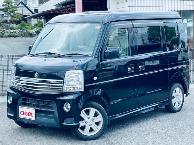 スズキ エブリイワゴン PZターボスペシャル ディスチャージ SDナビ 4WD AC ワンセグ エアバッグ ETC ターボ ABS パワステ USB キ-レス ナビ・TV パワースライドD AUX CDオーディオ bluetooth