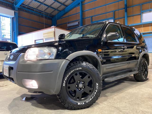 フォード XLT4WD 走行69100キロ BFグッドリッチAT新品
