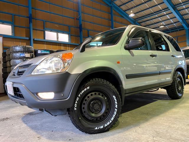 ホンダ パフォーマiL 4WD サンルーフ HID マットスチール トーヨーオープンカントリー新品装着