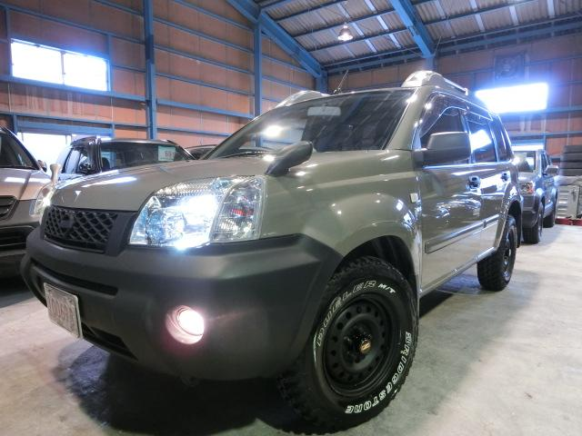 日産 Xtt 4WD 走行52300キロ 純正アッシュカーキ マットスチール デューラーMT新品装着