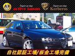 アルファ159スポーツワゴン3.2JTS Q4QトロディスティンクティブHDDナビ記録簿