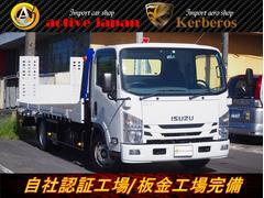エルフトラックタダノ積載車リモコンフルフラット大型積載可能2900Kg新型