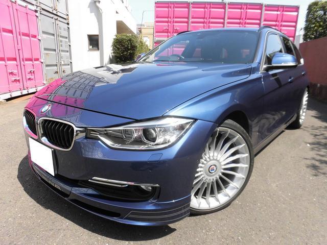 BMWアルピナ ビターボ ツーリング右H アルピナブルー パノラマサンルーフ
