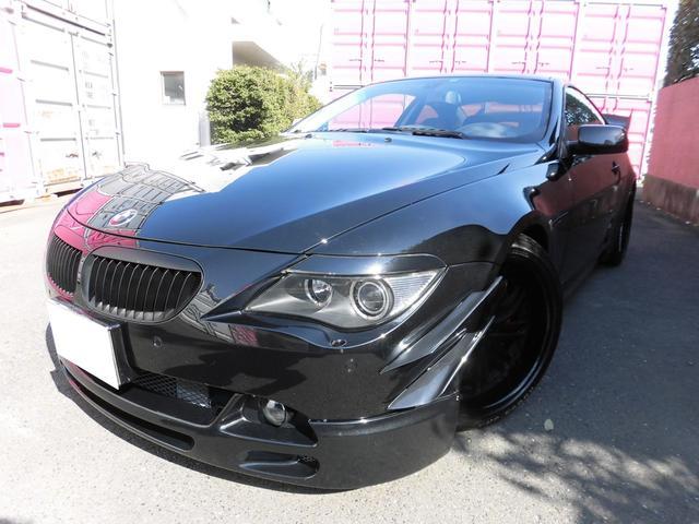 BMW 645Ci 買取り直販 カスタム車 黒革シート