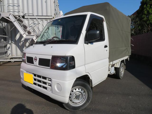 日産 DX 幌車 エアコンパワステ 5速MT