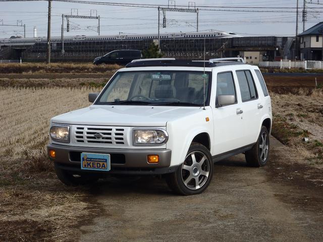 日産 タイプII 4WD サンルーフ ルーフレール