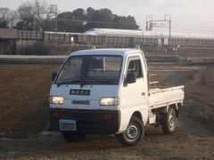 キャリイトラックKU 4WD ワンオーナー ディーラー整備記録簿13枚有