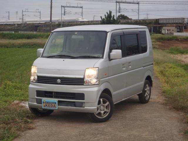 スズキ JP パートタイム4WD ワンセグSDナビ ETC