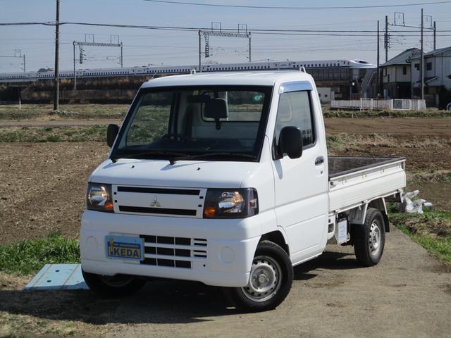 三菱 ミニキャブトラック Vタイプ 走行15800km 車検令和4年2月 三方開 バックブザー