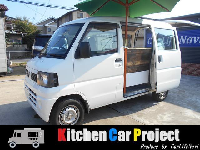 日産 DX キッチンカー仕エアコン