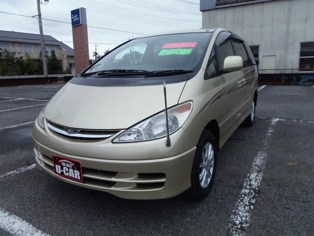 トヨタ G フルタイム4WD HIDライト ETC 木目調パネル