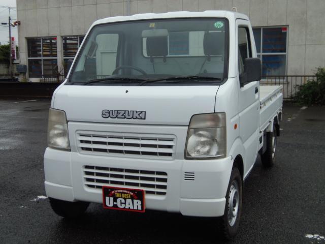 KCエアコン・パワステ 5速マニュアル 切替式4WD 3方開き(1枚目)