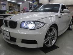 BMW135i サンルーフ 地デジ 社外マフラー 茶革 LED