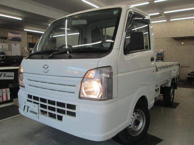 マツダ KCエアコン・パワステ ワンオーナー 4WD 作業灯LED ETC