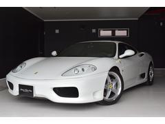 フェラーリ 360D車ビアンコ タイベル交換済み 伊藤レーシングマフラー