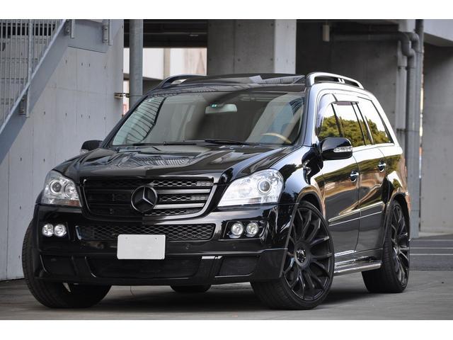 メルセデス・ベンツ GL550ブラバスエアロ ジオバンナ24インチAW 買取車