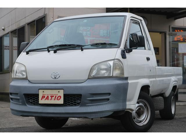 トヨタ DX 5速MT ガソリン車 走行4.7万キロ 積載0.79t 平ボディ 一方開 エアバック