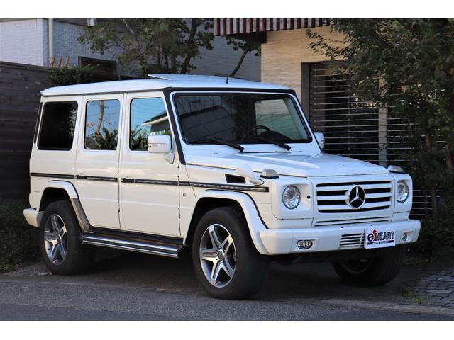 メルセデス・ベンツ G500 ロング 管理ユーザー様買取車両