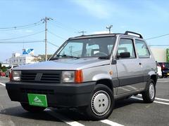 フィアット パンダセレクタ キャンバストップ 社外オーディオ 5速MT