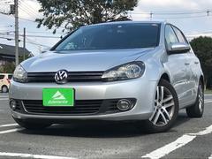 VW ゴルフTSIコンフォートライン HDDナビ・ETC・純正アルミ