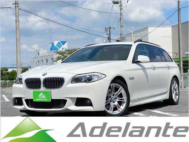 BMW 523dブルーパフォーマンス ツーリングMスポーツP 純正HDDナビ・バックカメラ・パワーシート・HIDヘッドライト・ETC・純正18インチアルミ・スマートキー・Mスポーツ