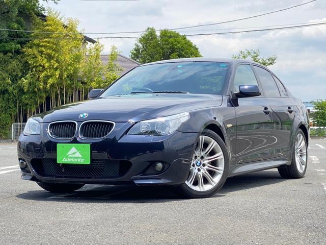 BMW 5シリーズ 530i Mスポーツパッケージ 純正ナビ・18インチAW・ETC・ハーフレザーシート・HIDライト・パワーシート・Mスポーツ