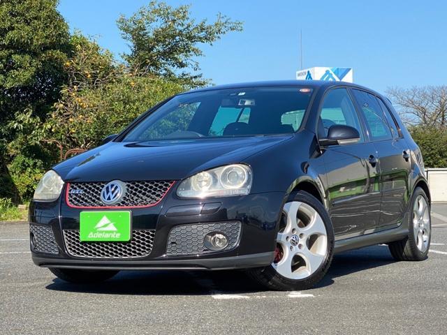 フォルクスワーゲン GTI HDDナビ・TV・HIDライト・フォグランプ・17インチアルミホイール・ウインカーミラー・キーレス・オートエアコン・キーレス・ユーザー買取車