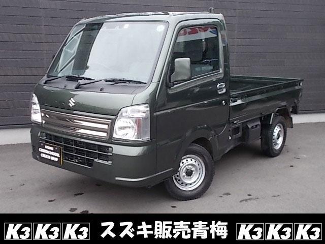 スズキ キャリイトラック KCスペシャル キーレス デュアルカメラブレーキサポート ABS 4WD