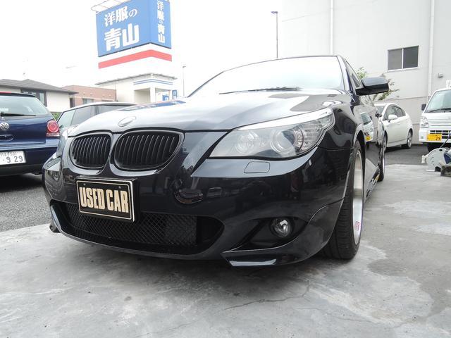 BMW 5シリーズ 525i Mスポーツパッケージ 18インチ ETC