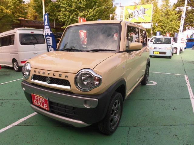 スズキ G 純正ワイドナビ デュアルカメラブレーキ 届出済未使用車