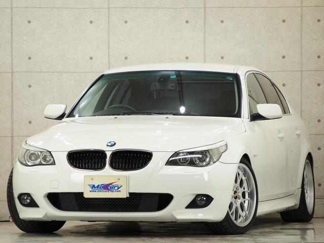 BMW 525i 法人ワンオーナ Mスポ仕様 ビルシュタイン BBS