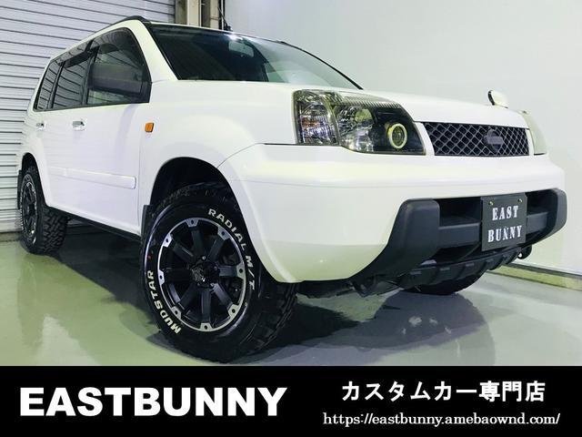 日産 4WD 新品MTタイヤ リフトアップ チップ塗装 塗分け