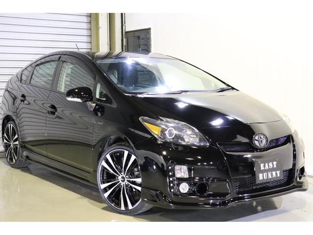 トヨタ S 新品バンパーエアロ 19インチアルミ ブラック仕様