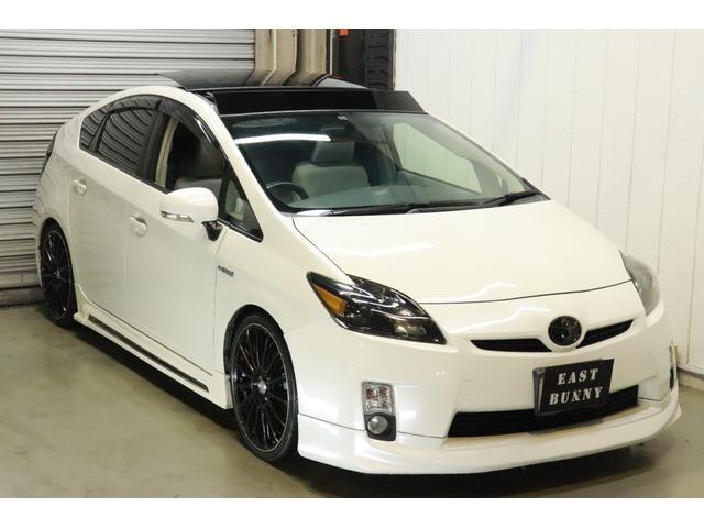 トヨタ S ソーラーサンルーフ 新品車高調 19アルミ ワンオーナー