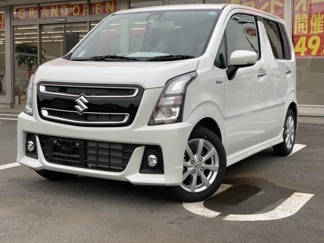 スズキ ワゴンRスティングレー ハイブリッドX 2WD・レーダーブレーキサポート付