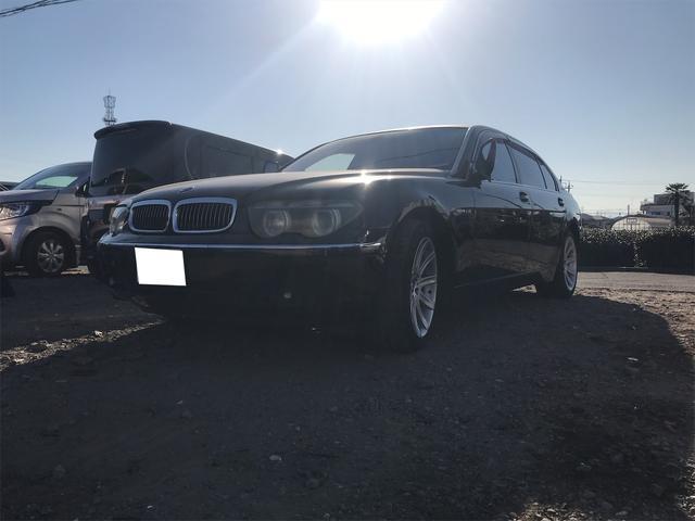 BMW 7シリーズ 760Li スマートキー DVDナビ 後席モニター 革シート アルミ サンルーフ
