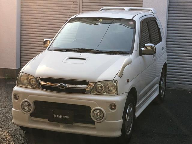 ダイハツ カスタムX ETC オーディオ 4WD