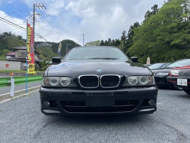 BMW 5シリーズ 525iツーリング Mスポーツパッケージ 実走行46000km  外装ブラック Mスポーツ