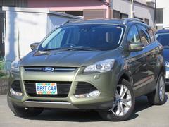 フォード クーガタイタニアム4WD サンルーフ 革 ナビTV 電動リアゲート