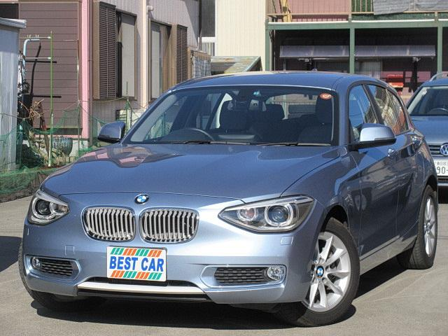BMW 116iスタイル 純正ナビ Bカメラ ETC HID アルミ