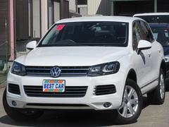 VW トゥアレグV6 ブルーモーションテクノロジー 4WD 純正ナビTV