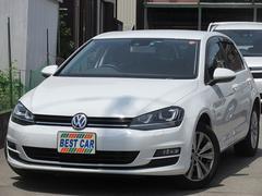 VW ゴルフTSIコンフォートライン 純正ナビTV セーフティP ETC