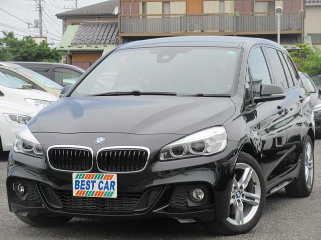 BMW 218iグランツアラーMスポーツ 純正ナビ Bカメラ ETC
