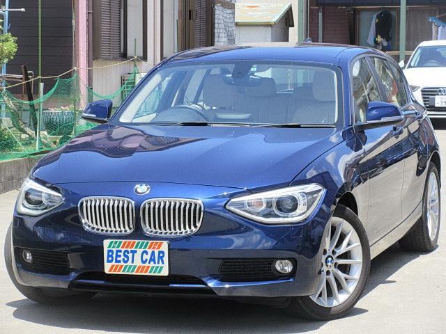 BMW 116iファッショニスタ 本革 ナビTV Bカメラ 純正AW