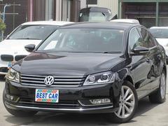 VW パサートTSIハイラインBMT 本革 純正ナビTV Bカメラ ETC