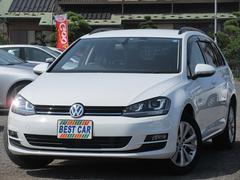 VW ゴルフヴァリアントTSIコンフォートラインBMT ディスカバープロナビ ETC
