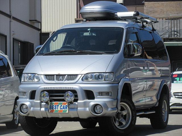 三菱 アクティブフィールドED 4WD オバフェン リフトUP