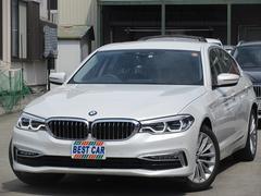 BMW530eラグジュアリーアイパフォーマンス 本革 純正ナビ