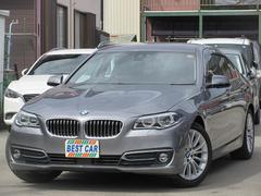 BMW523iラグジュアリー 本革 純正ナビTV Bカメラ ETC